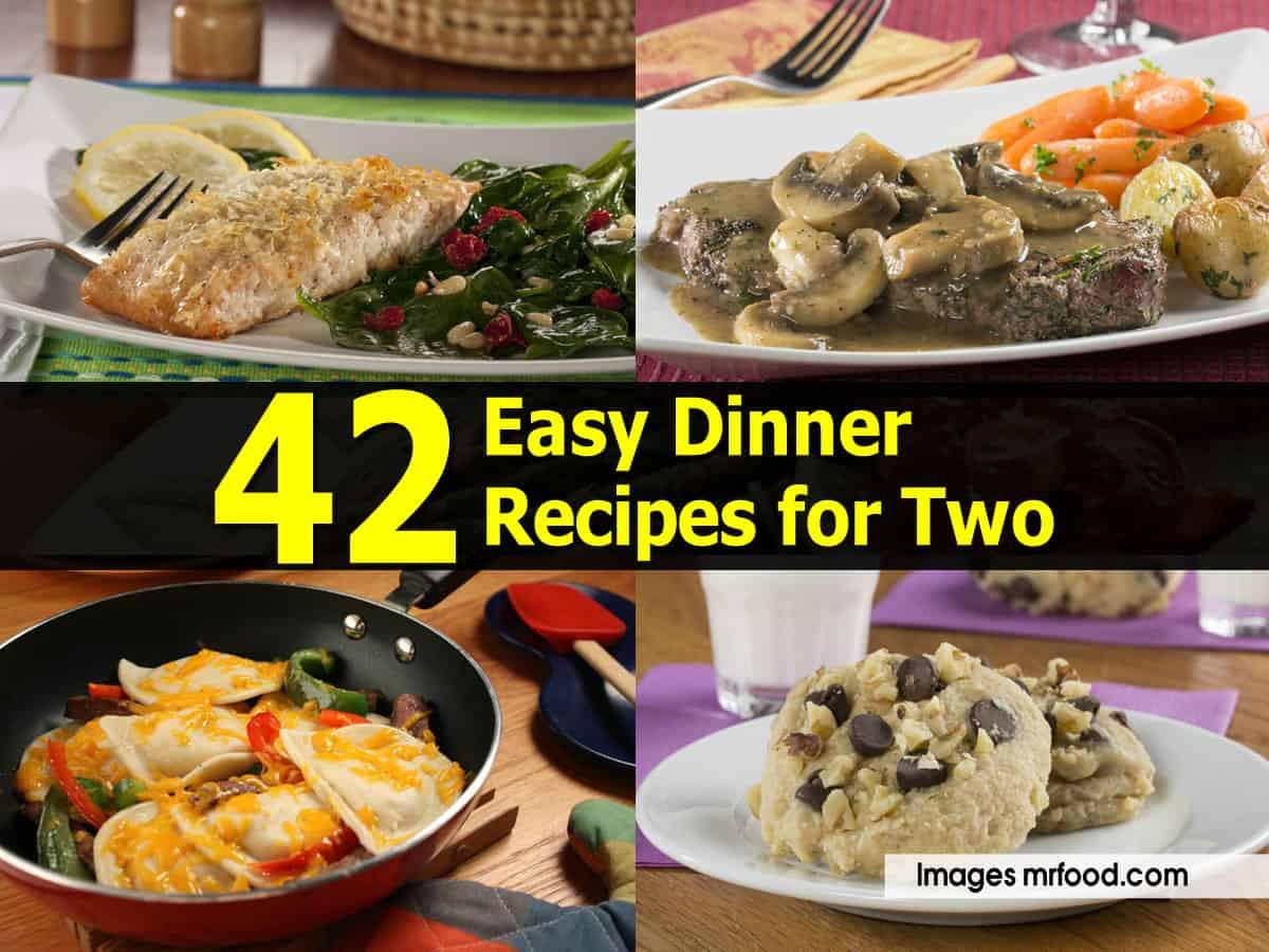 Easy Dinner For Two  42 Easy Dinner Recipes for Two