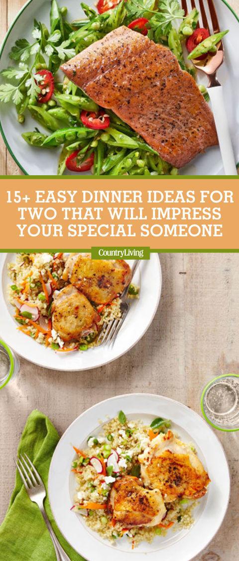 Easy Dinner For Two  17 Easy Dinner Ideas for Two Romantic Dinner for Two Recipes
