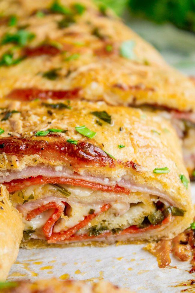 Easy Dinner Recipies  Classic Easy Stromboli Recipe The Food Charlatan