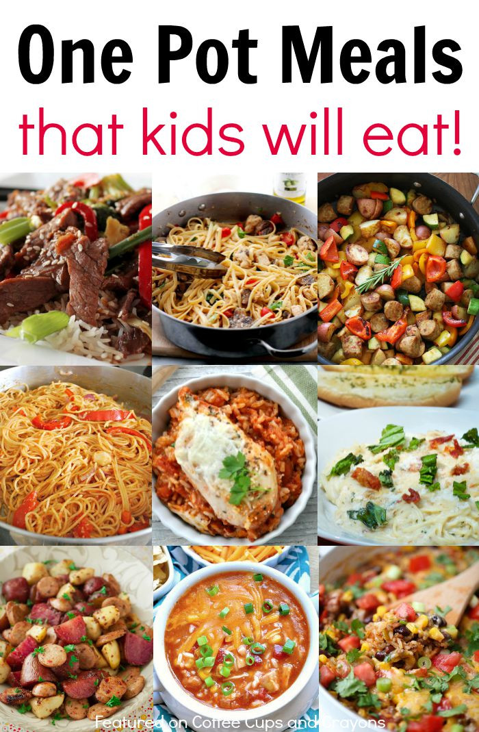 Easy Dinners For One  Kid Friendly e Pot Meals