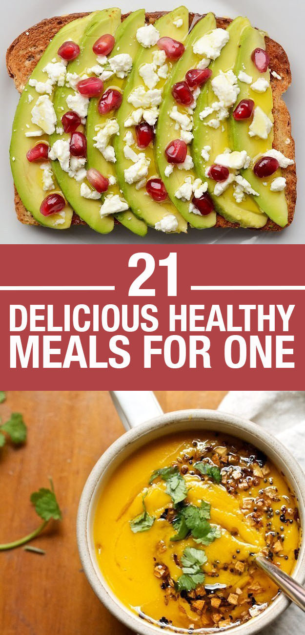 Easy Dinners For One  21 Easy And Healthy Meals For e