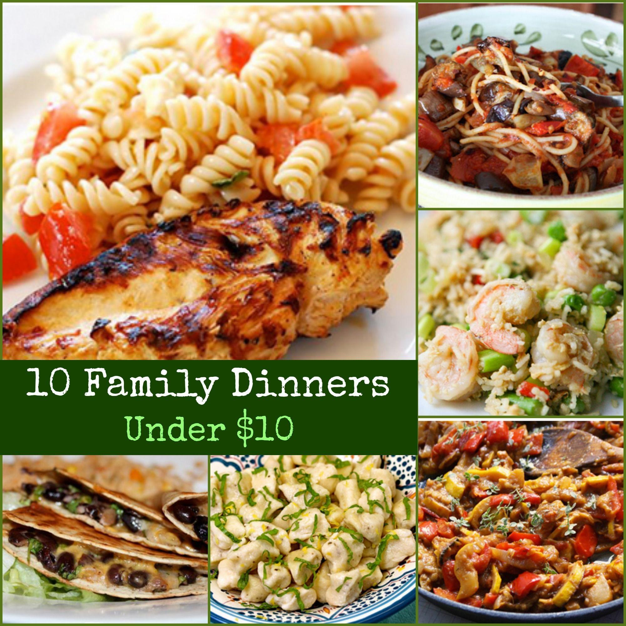 Easy Dinners Ideas For Family  easy dinner recipes for family