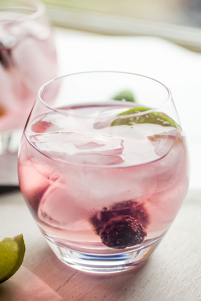 Easy Drinks With Vodka  Blackberry Vodka Tonics with Infused Vodka