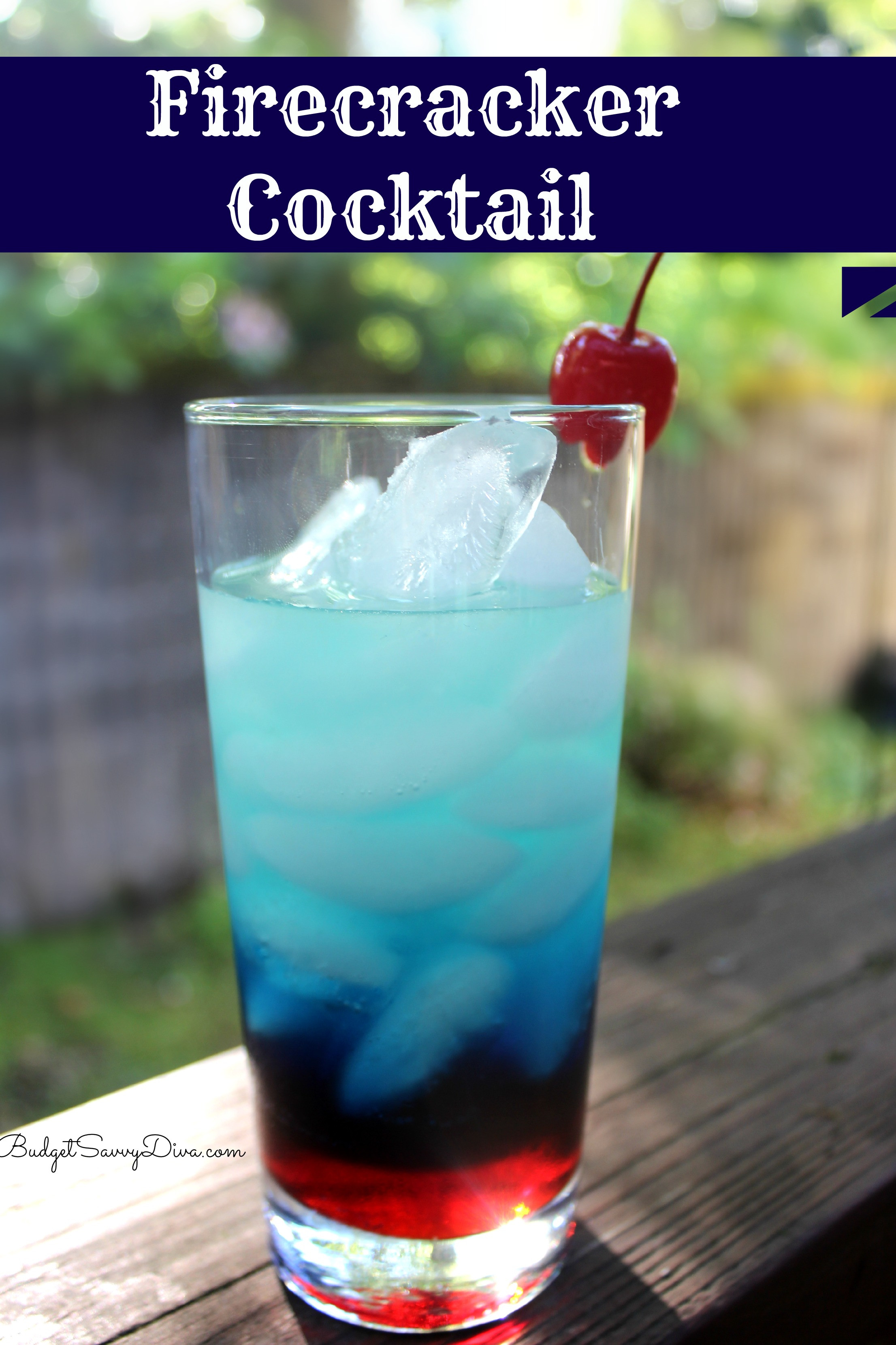 Easy Drinks With Vodka  Firecracker Cocktail Recipe