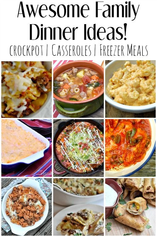 Easy Family Dinners  Easy Family Dinner Ideas and Recipes