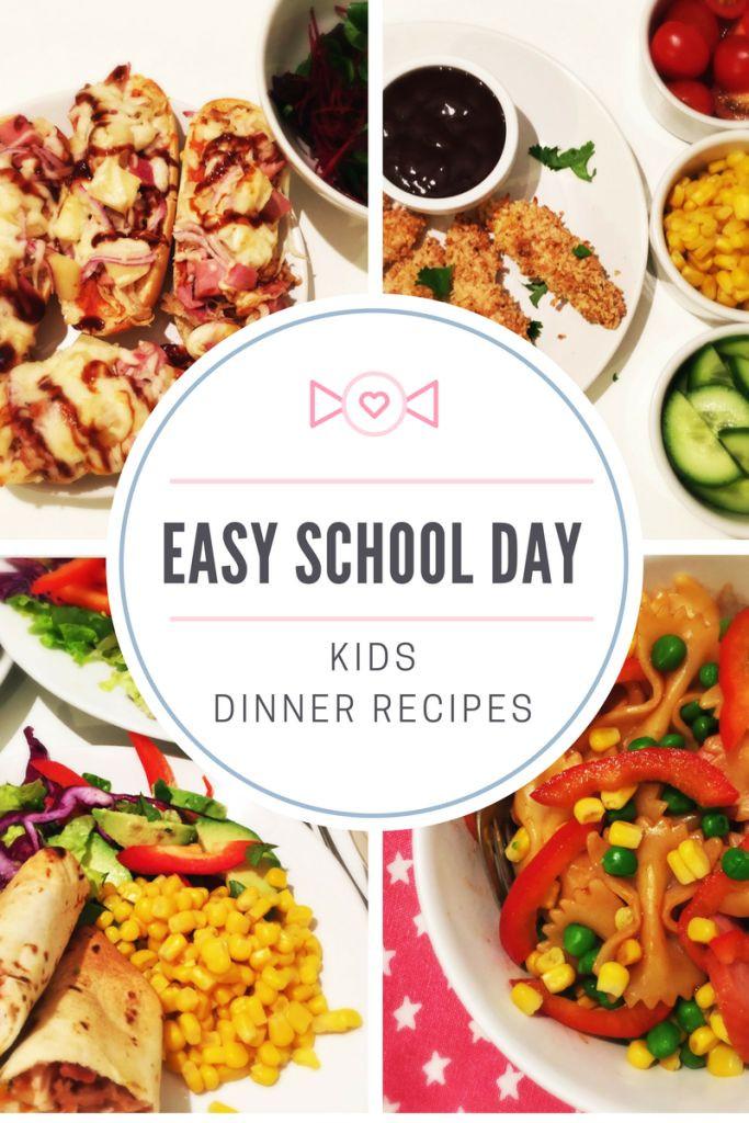 Easy Family Dinners  1334 best Food for kids images on Pinterest