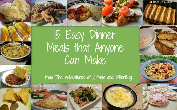 Easy Food To Make For Dinner  15 Easy Dinner Meals than Anyone Can Make The