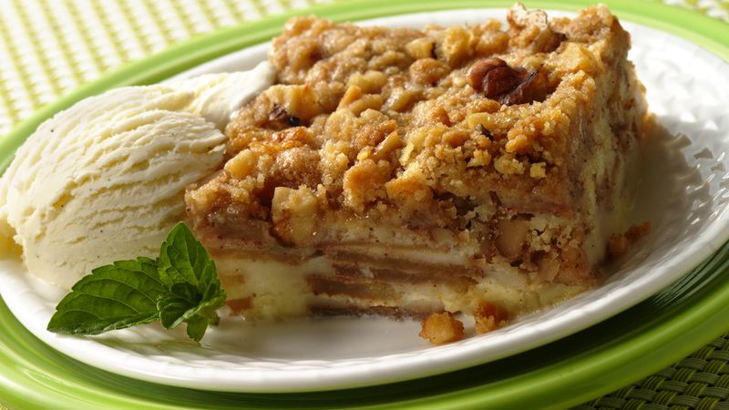 Easy French Dessert Recipes  Impossibly Easy French Apple Dessert Squares recipe from