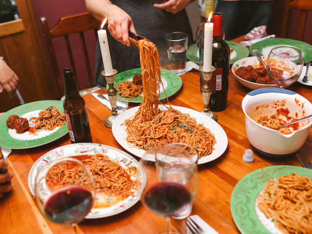 Easy Friday Night Dinner  Friday Night Meatballs How to Change Your Life With Pasta
