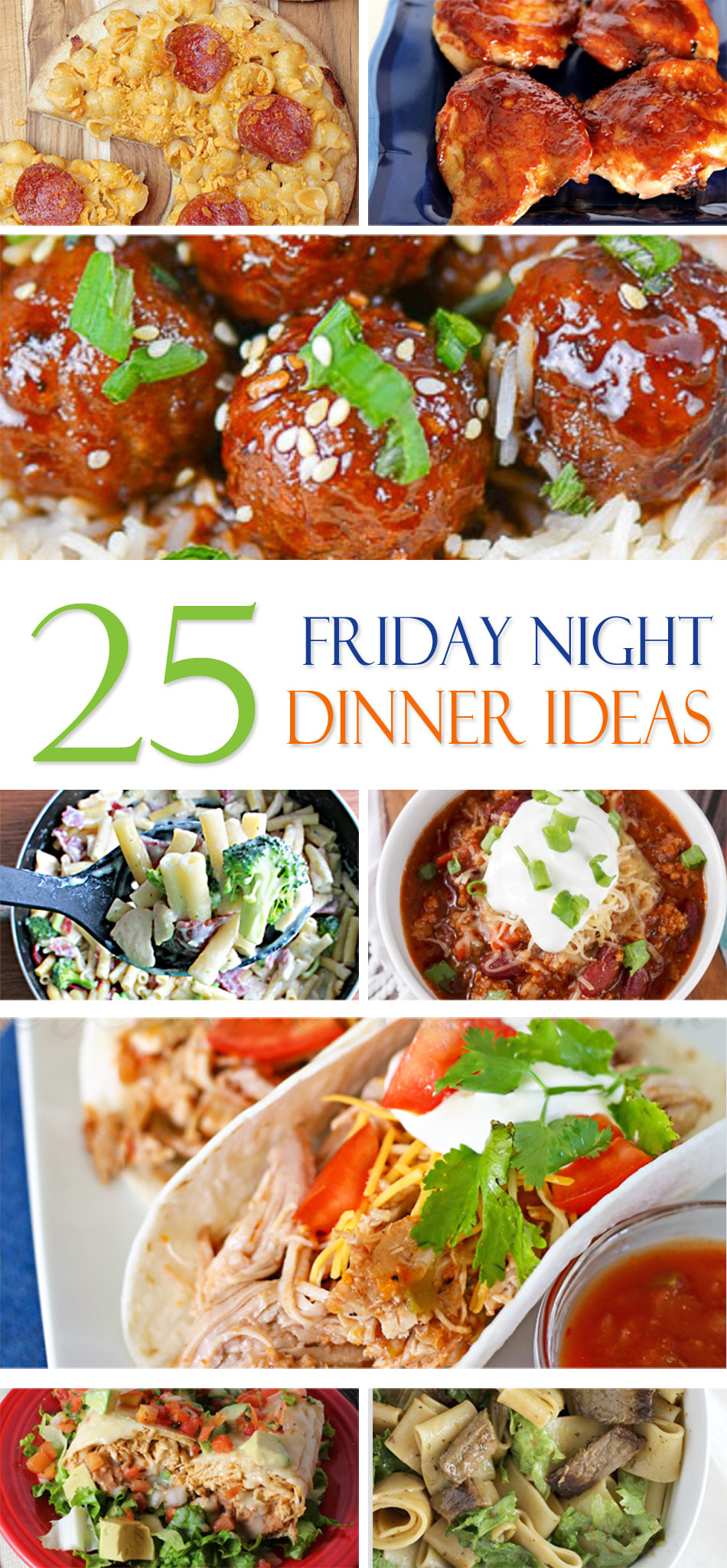 Easy Friday Night Dinner  25 Friday Night Dinner Ideas Page 2 of 2 Kleinworth & Co