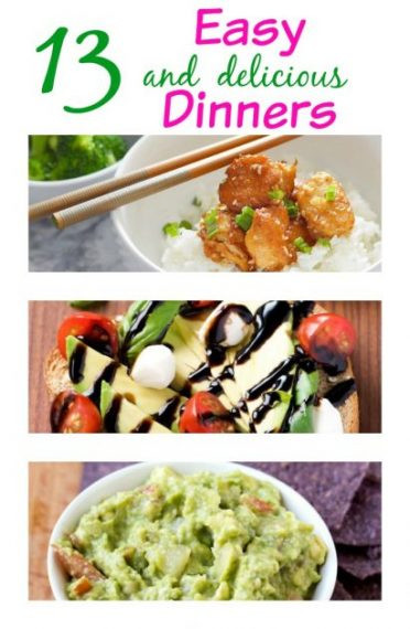 Easy Friday Night Dinner  13 delicious and easy dinner ideas