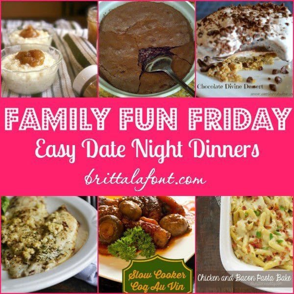 Easy Friday Night Dinner  Raising Well Rounded Kids Gym Craft Laundry