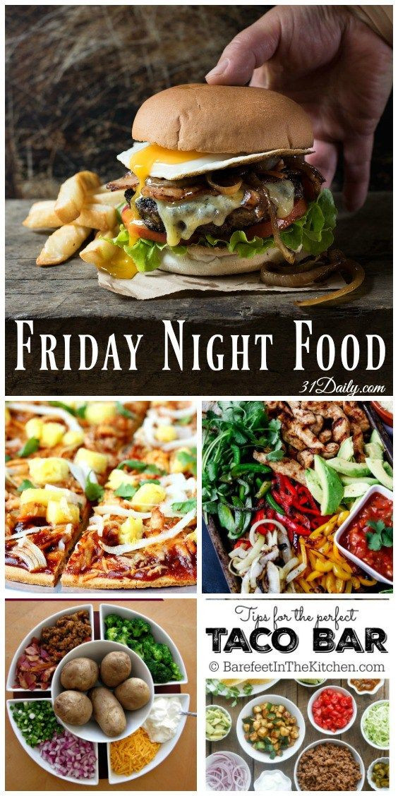 Easy Friday Night Dinner  17 Best ideas about Friday Night Dinners on Pinterest
