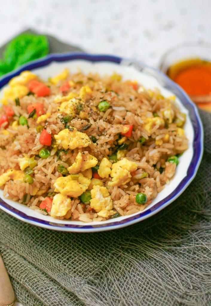 Easy Fried Rice  Easy Egg Fried Rice Erica Julson