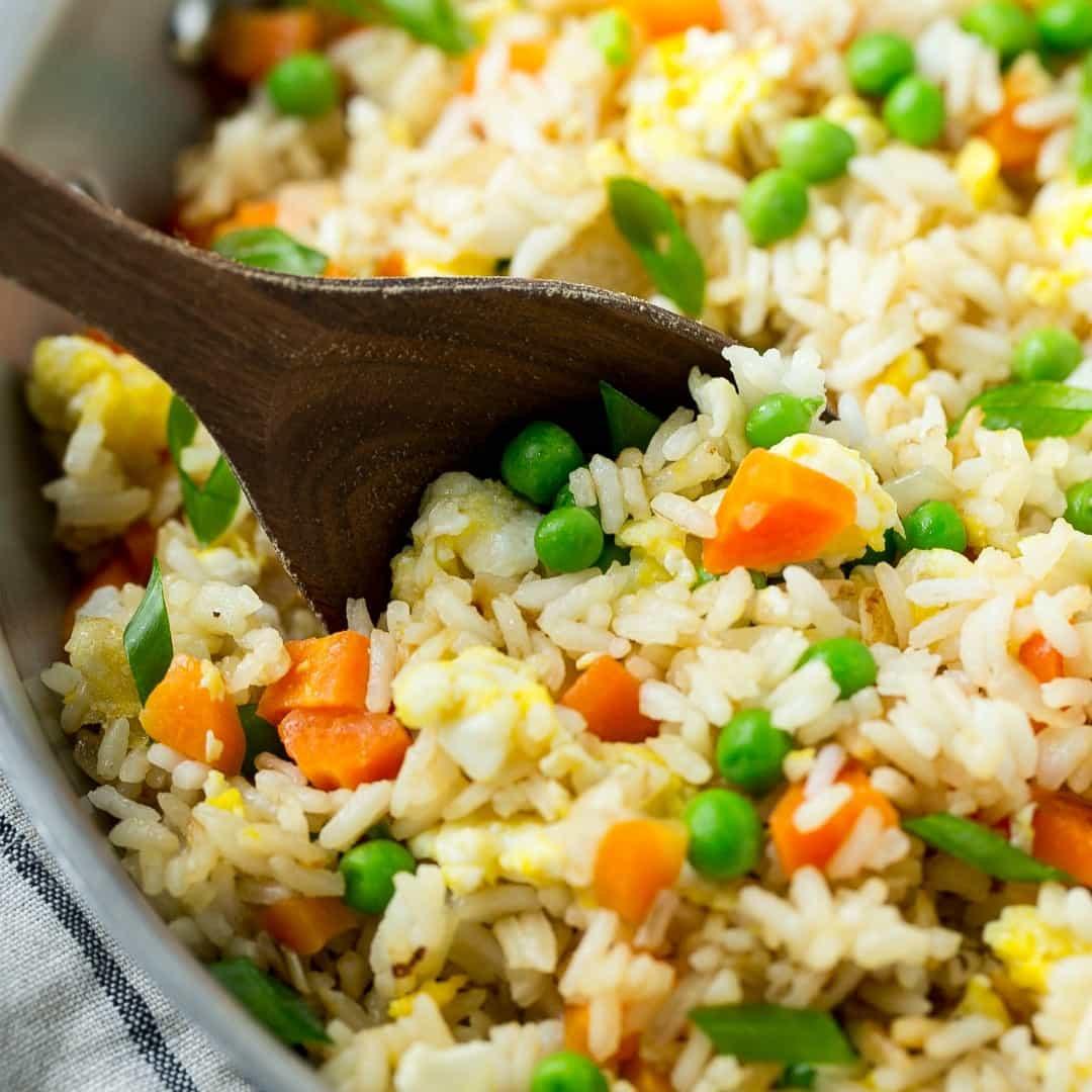 Easy Fried Rice  Easy Fried Rice ⋆ Real Housemoms