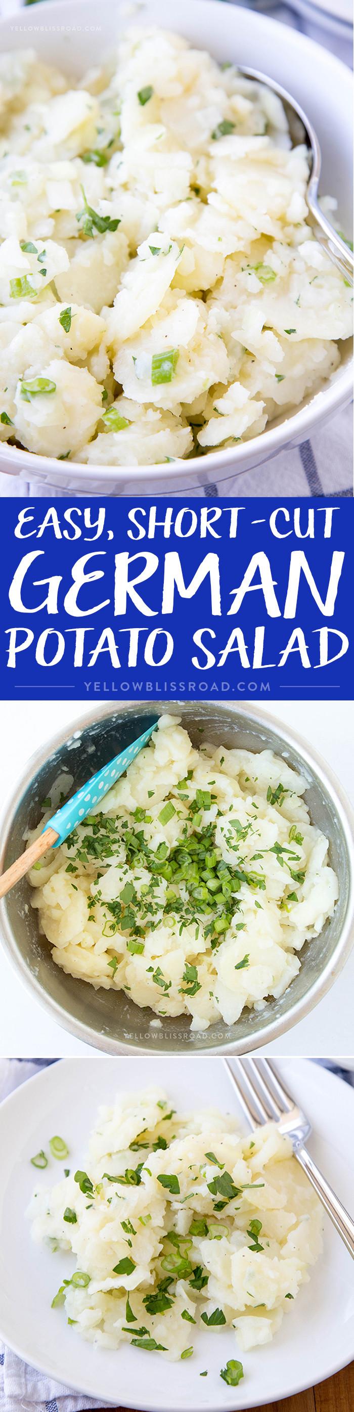 Easy German Potato Salad  Easy German Potato Salad Yellow Bliss Road