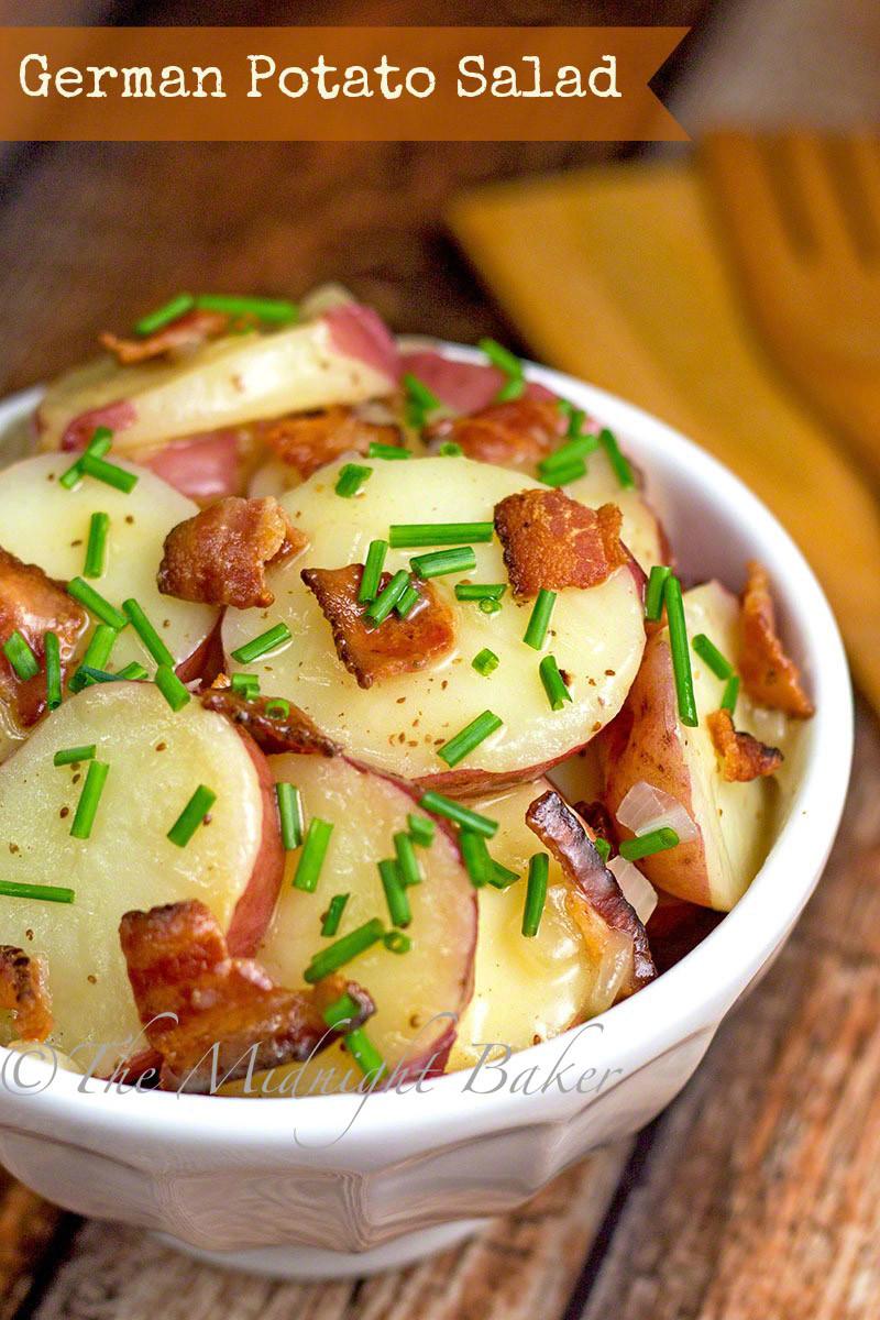 Easy German Potato Salad  German Potato Salad The Midnight Baker