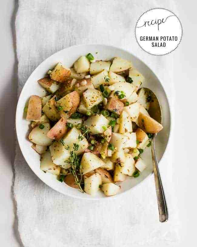 Easy German Potato Salad  Easy Vegan German Potato Salad