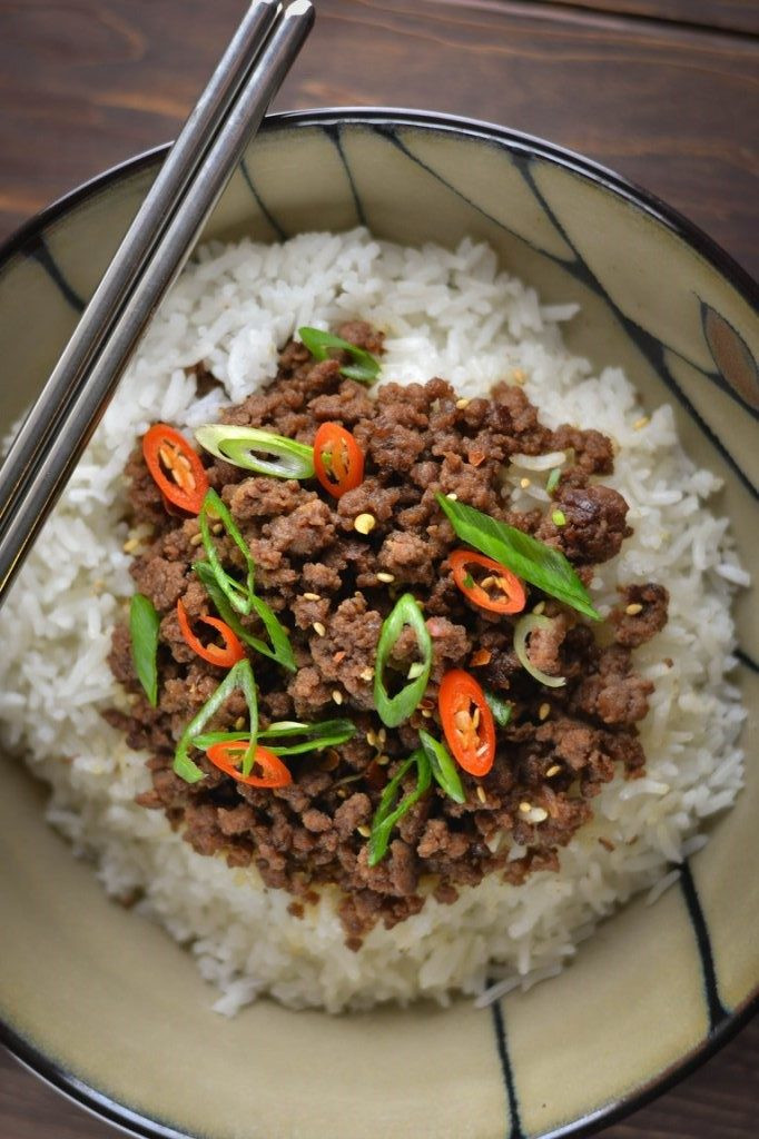 Easy Ground Beef Recipes With Few Ingredients  Easy Korean Beef Wok & Skillet