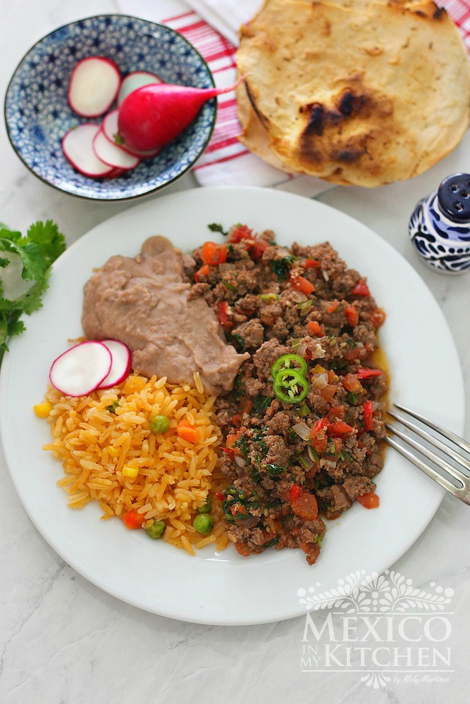 Easy Ground Beef Recipes With Few Ingredients  Easy Mexican Ground Beef Recipe Authentic Mexican