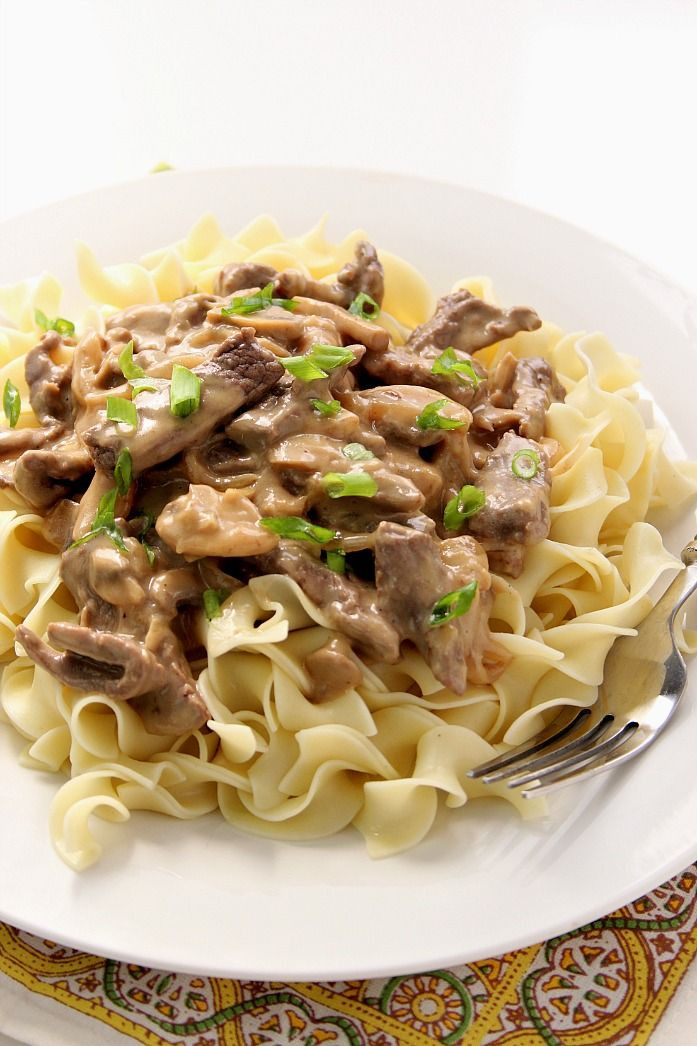 Easy Ground Beef Recipes With Few Ingredients  Stroganoff recipe Beef stroganoff and Few ingre nts on