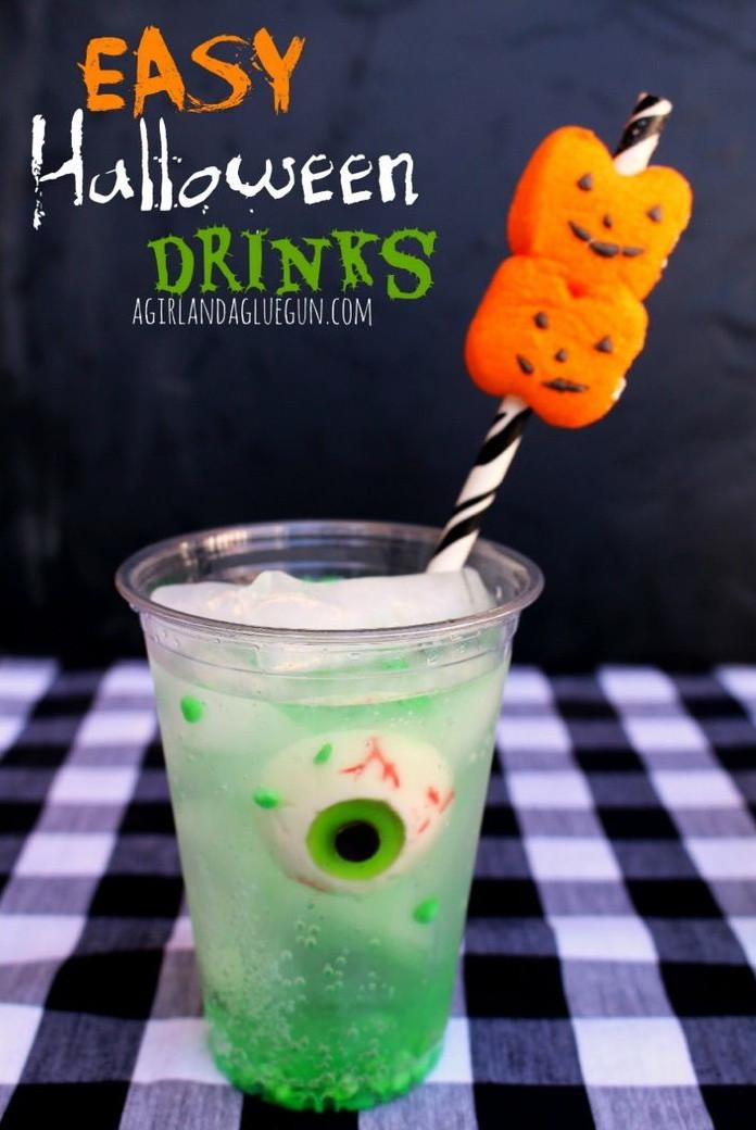 Easy Halloween Drinks  Spooky Eyeball Halloween Drink – Best Cheap Easy & Fast