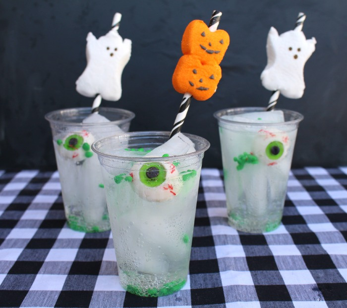 Easy Halloween Drinks  Creepy mocktails and other non alcoholic Halloween drinks