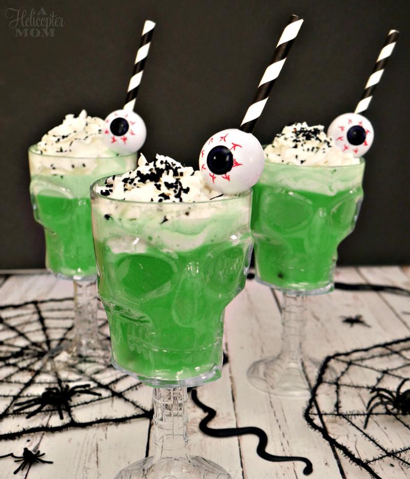 Easy Halloween Drinks  Easy Creepy Halloween Drinks A Helicopter Mom