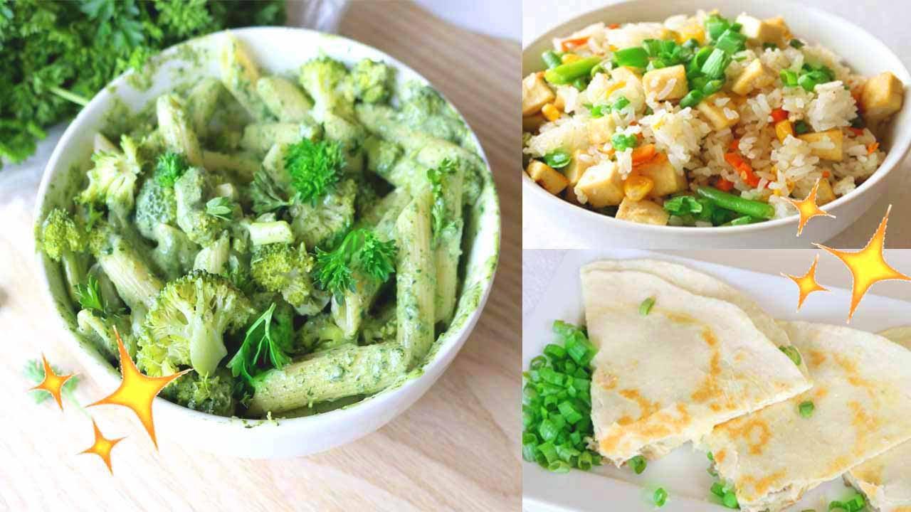 Easy Healthy Dinner Recipes  Easy & Healthy Dinner Ideas Vegan Recipes 🌿