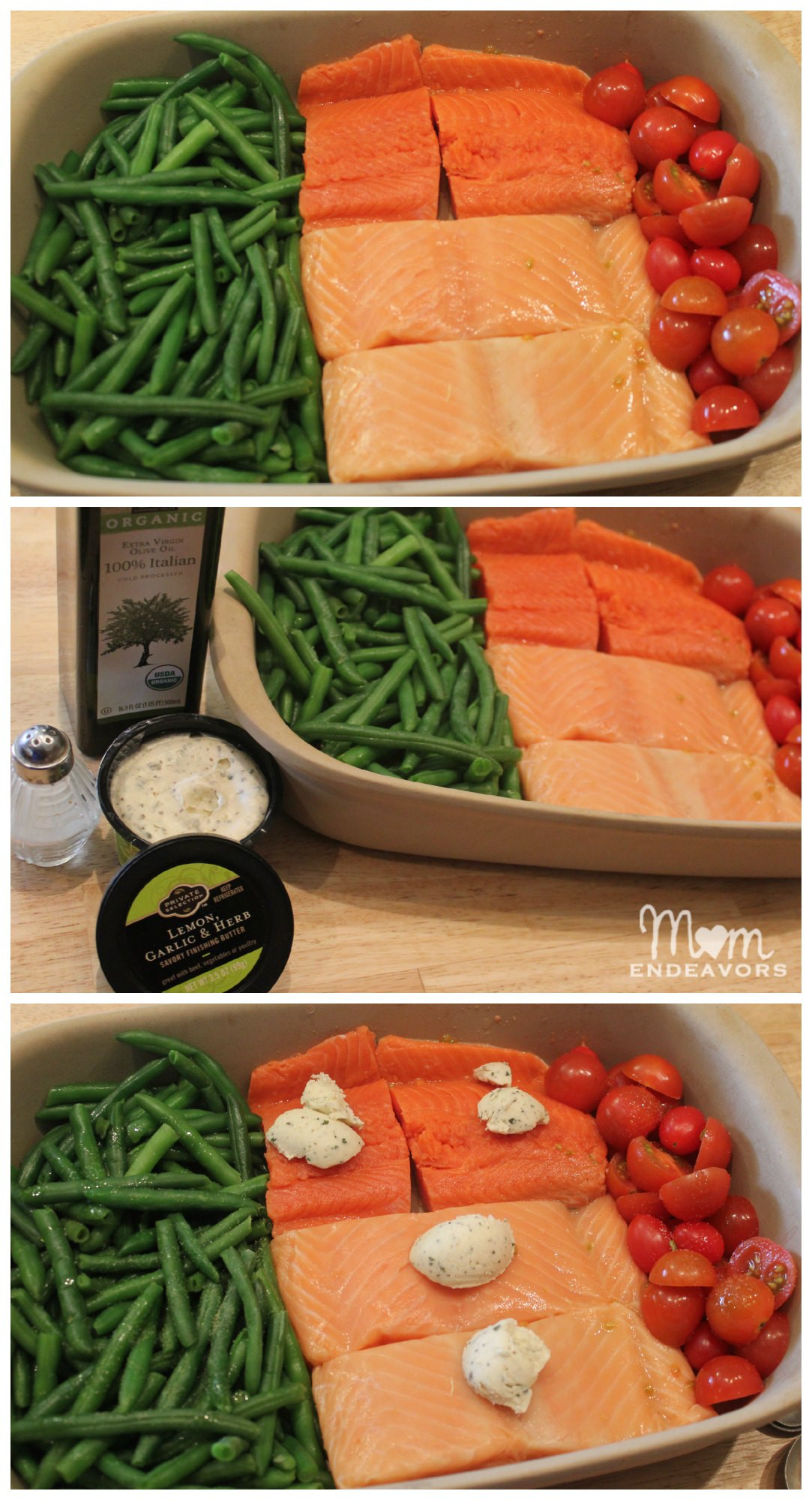 Easy Healthy Dinner Recipes  Quick & Healthy Recipe e Pan Baked Salmon & Ve ables