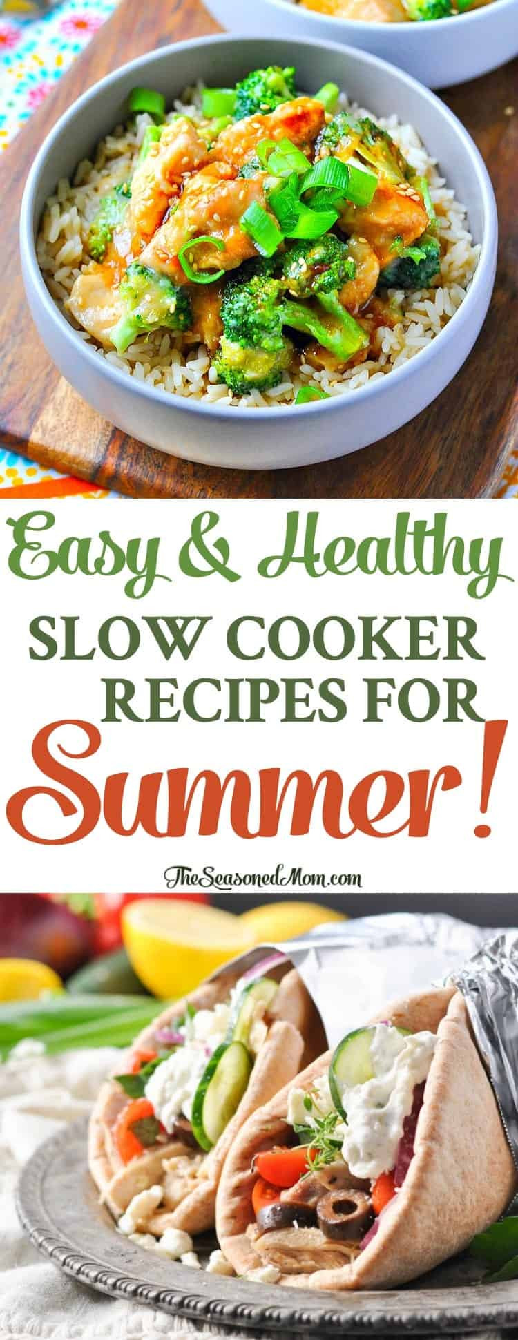 Easy Healthy Slow Cooker Recipes  Easy Healthy Slow Cooker Recipes for Summer The