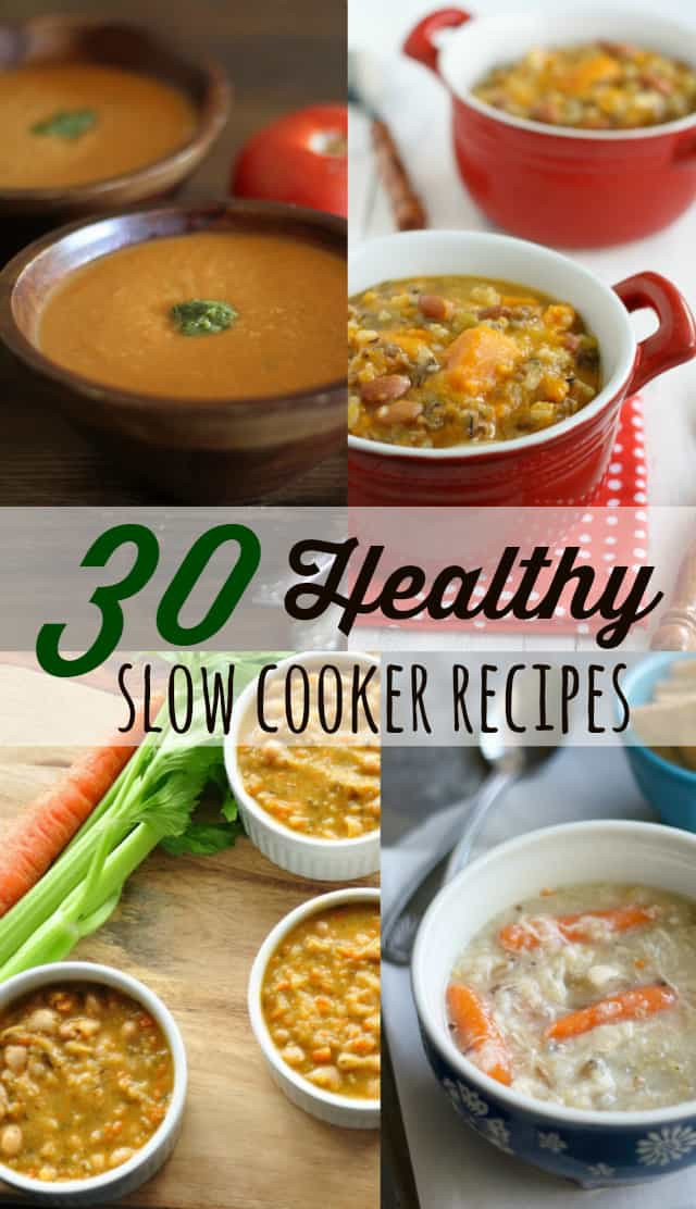Easy Healthy Slow Cooker Recipes  30 Healthy Slow Cooker Recipes The Pretty Bee