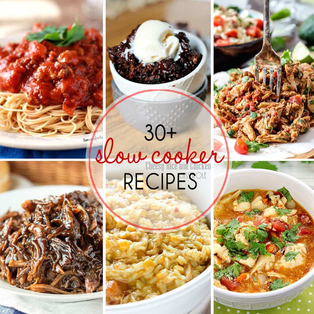 Easy Healthy Slow Cooker Recipes  30 Must Try Slow Cooker Recipes Yummy Healthy Easy