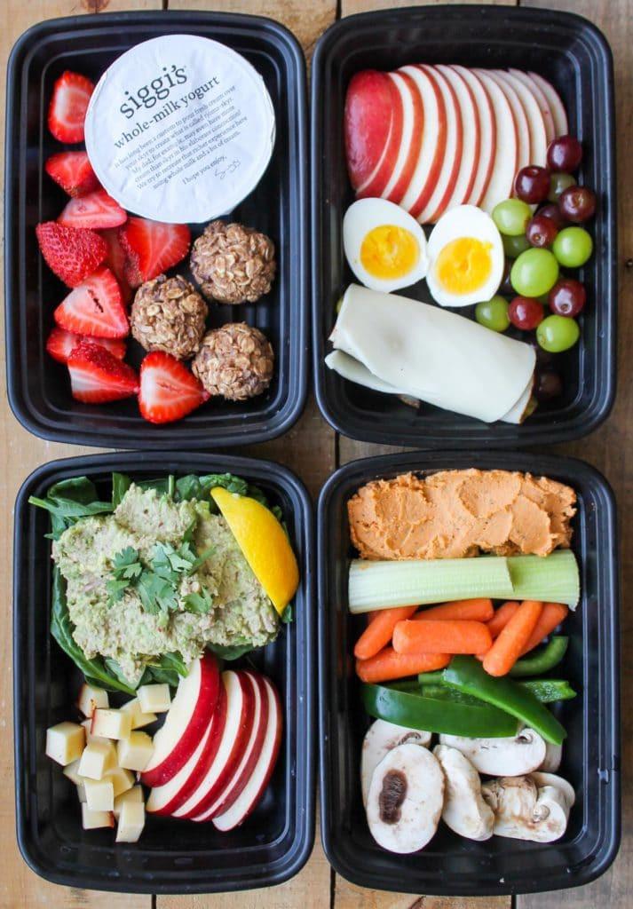 Easy Healthy Snacks On The Go  4 Healthy Snack Box Ideas Smile Sandwich