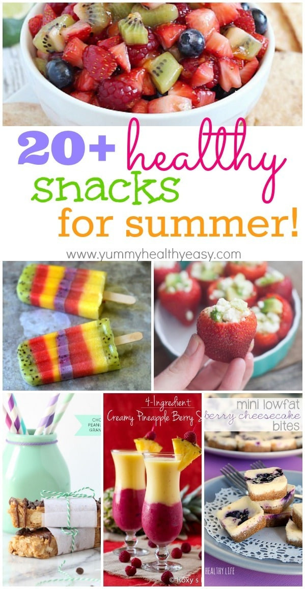 Easy Healthy Snacks On The Go  20 Healthy Summertime Snacks Yummy Healthy Easy