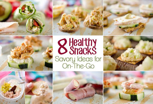 Easy Healthy Snacks On The Go  8 Healthy Snacks Savory Ideas