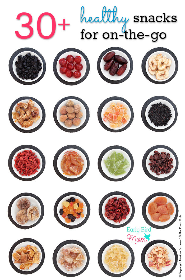 Easy Healthy Snacks On The Go  30 no mess healthy snack ideas for on the go