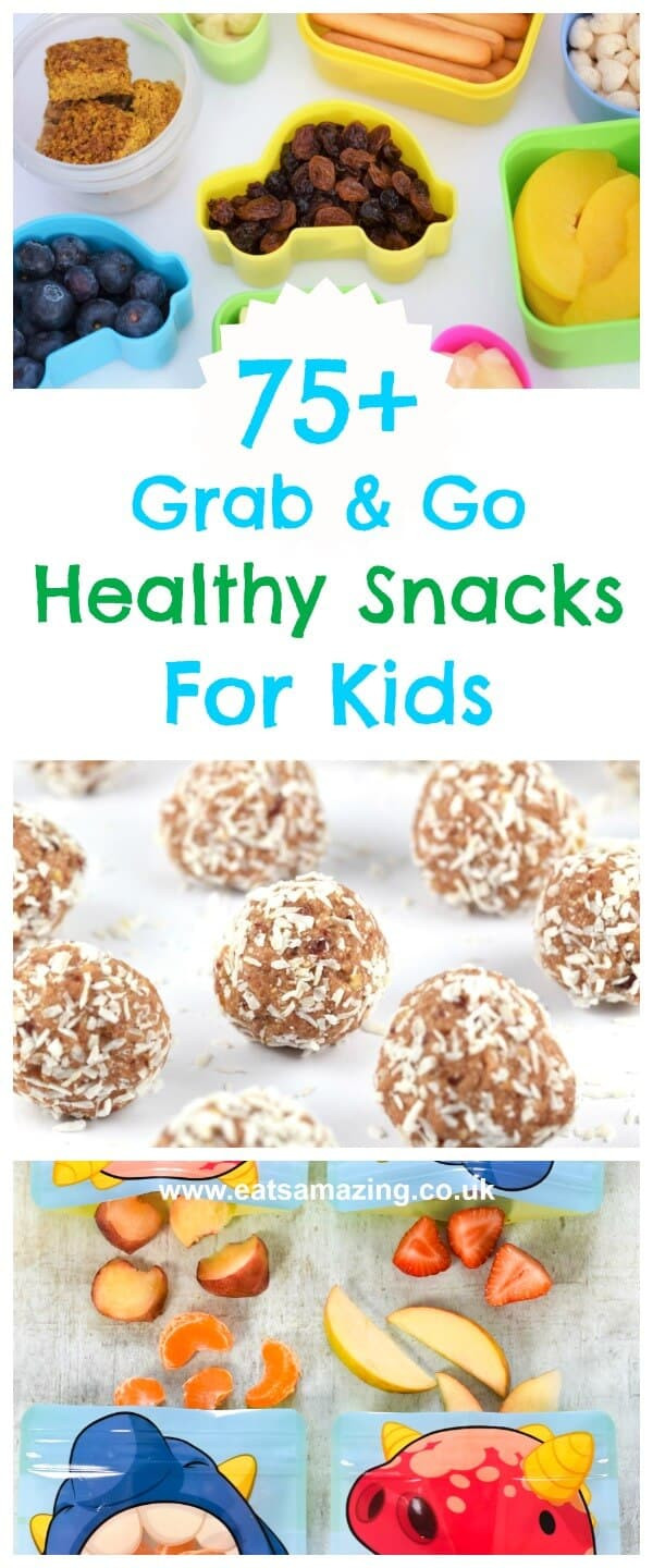 Easy Healthy Snacks On The Go  75 Healthy The Go Snacks for Kids