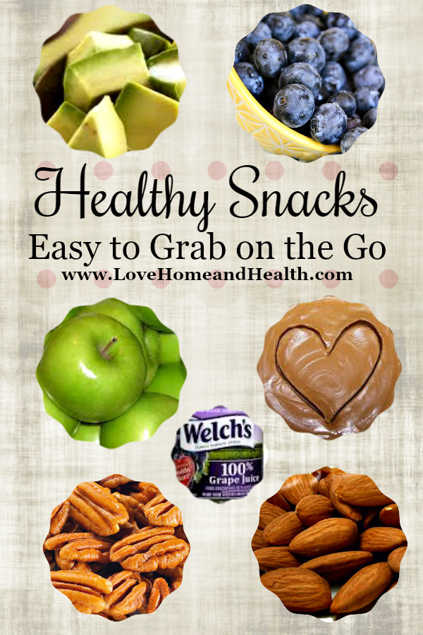 Easy Healthy Snacks On The Go  Healthy Snacks Easy to Grab on the Go Love Home and