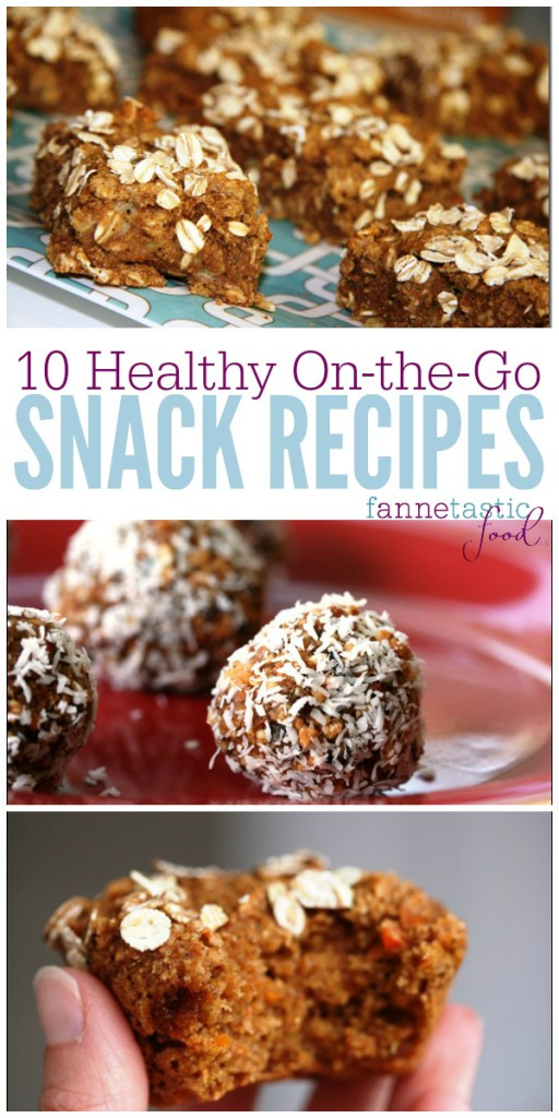 Easy Healthy Snacks On The Go  Healthy the Go Snack Recipes