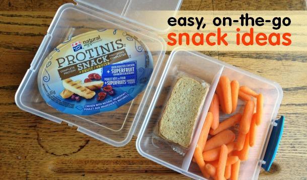 Easy Healthy Snacks On The Go  Kid Friendly Healthy The Go Snack Ideas