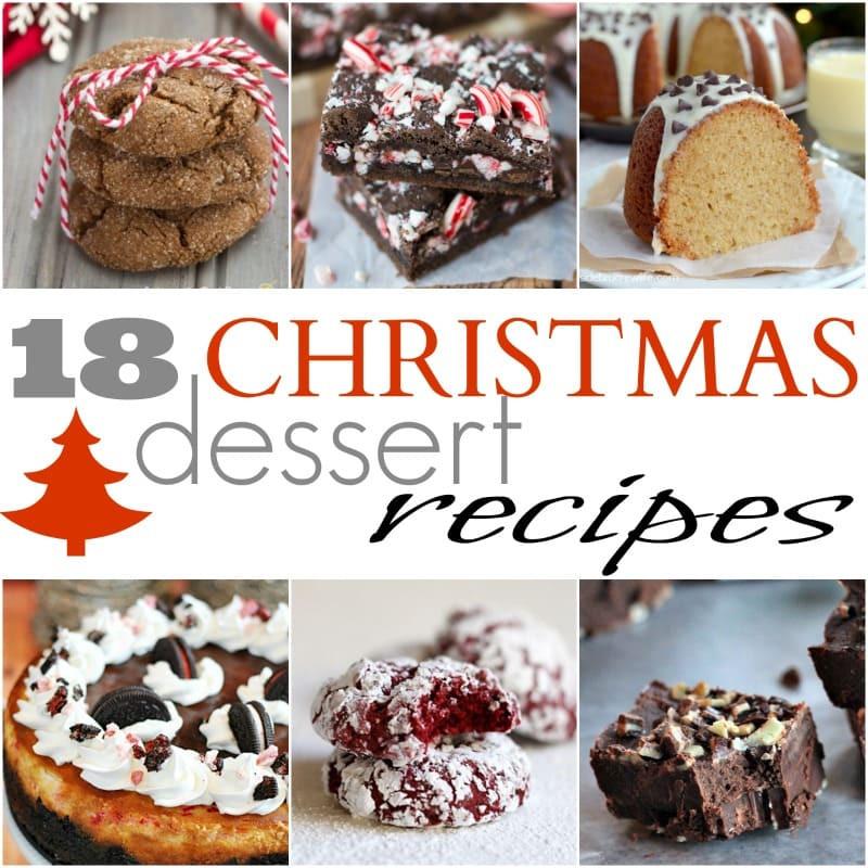 Easy Holiday Dessert Recipes  18 Easy Christmas Dessert Recipes