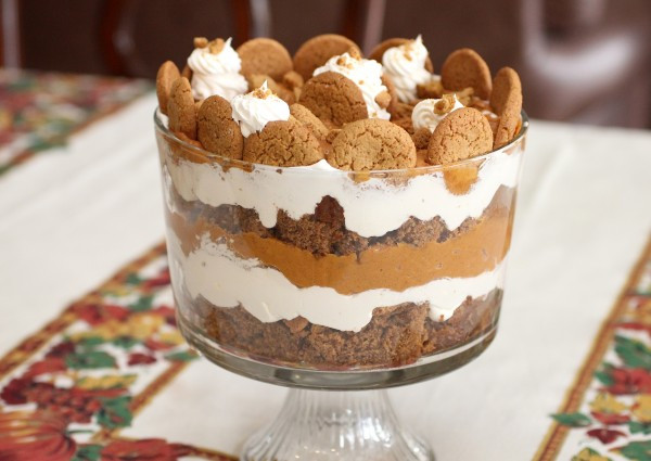 Easy Holiday Dessert Recipes  Holiday Pumpkin Gingerbread Trifle – A Simple Holiday