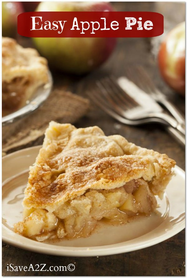 Easy Homemade Apple Pie  Easy Apple Pie Recipe You won t believe how simple this is