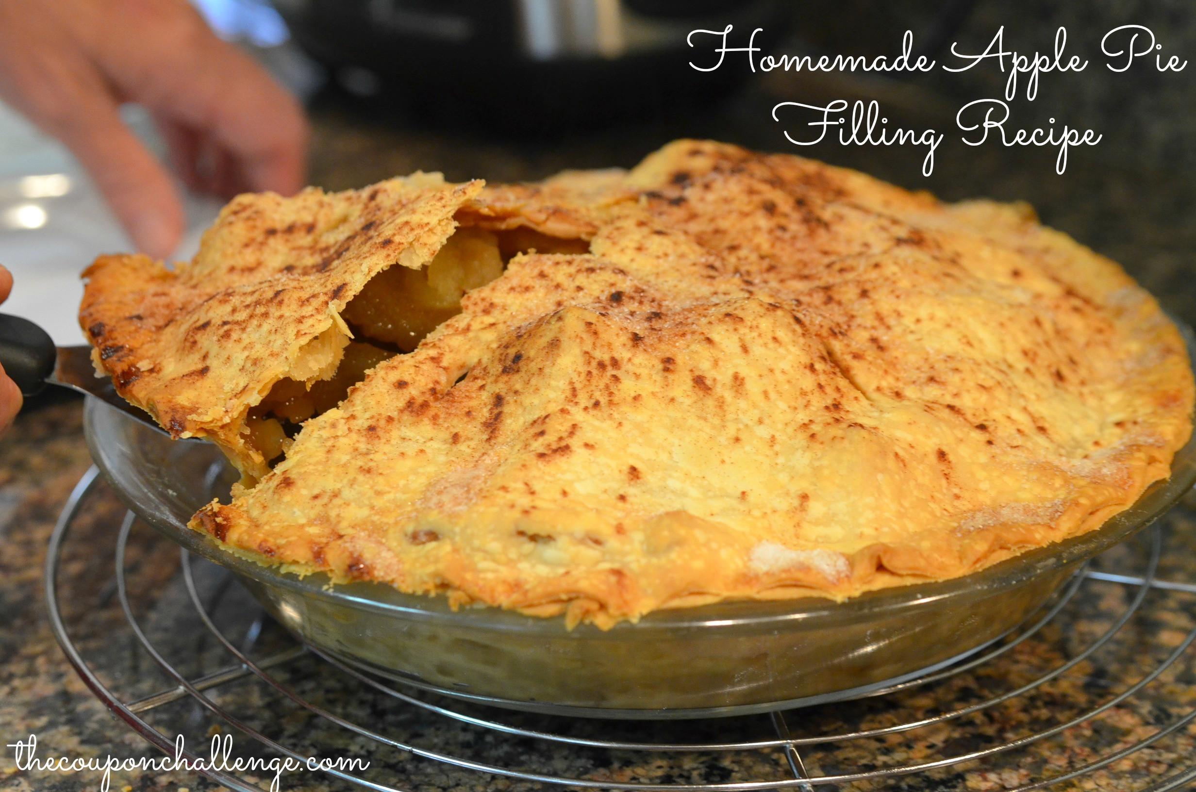 Easy Homemade Apple Pie  Apple Pie Filling Recipe