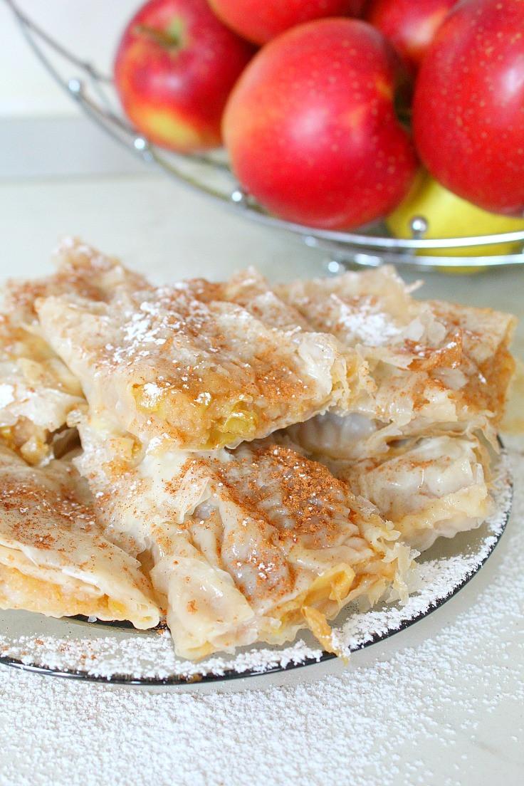 Easy Homemade Apple Pie  Homemade Easy Apple Pie Recipe with Filo Pastry