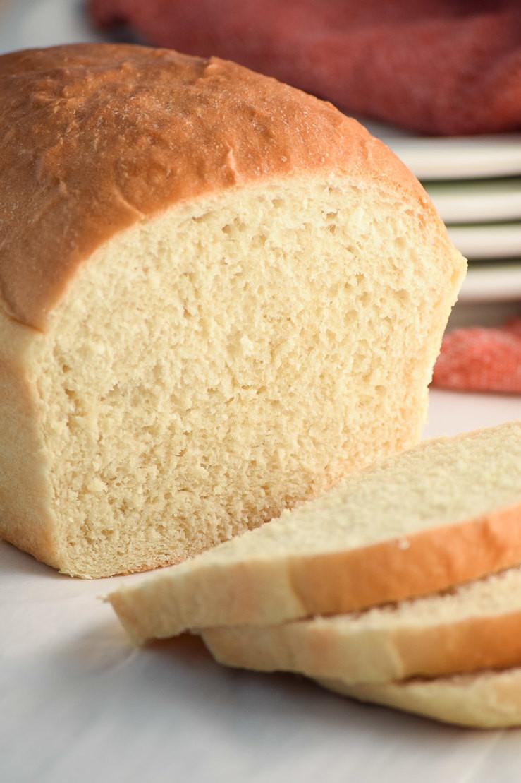 Easy Homemade Bread Recipe  Easy White Bread Recipe My Homemade Heaven