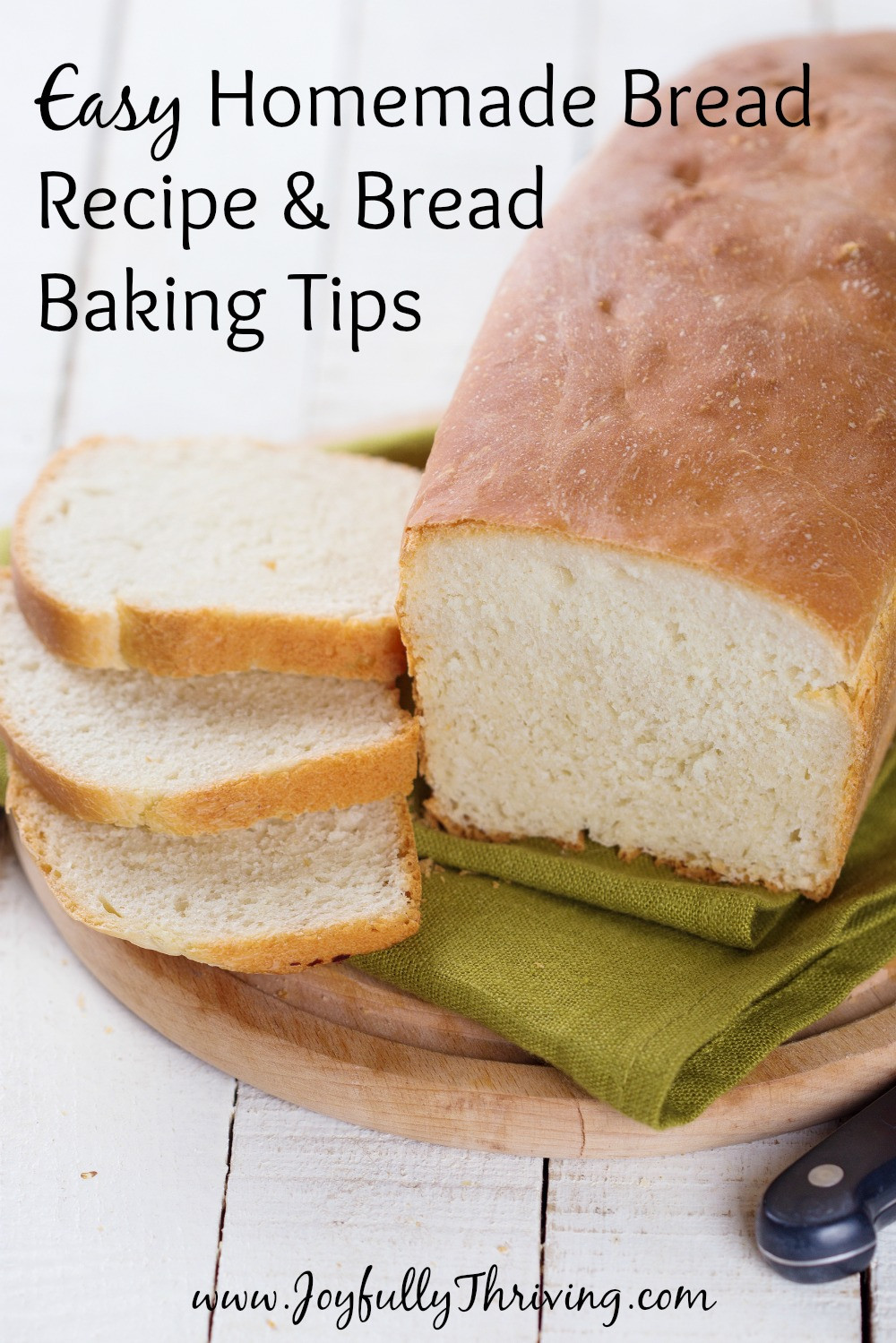 Easy Homemade Bread Recipe  Homemade Bread Recipe & Tips