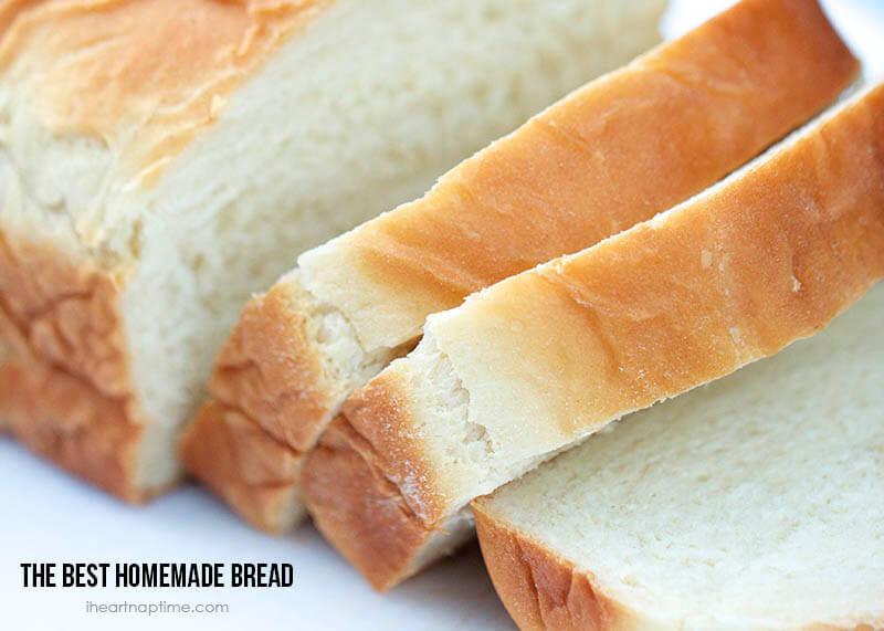 Easy Homemade Bread Recipe  How to make homemade bread my fav recipe I Heart Nap Time
