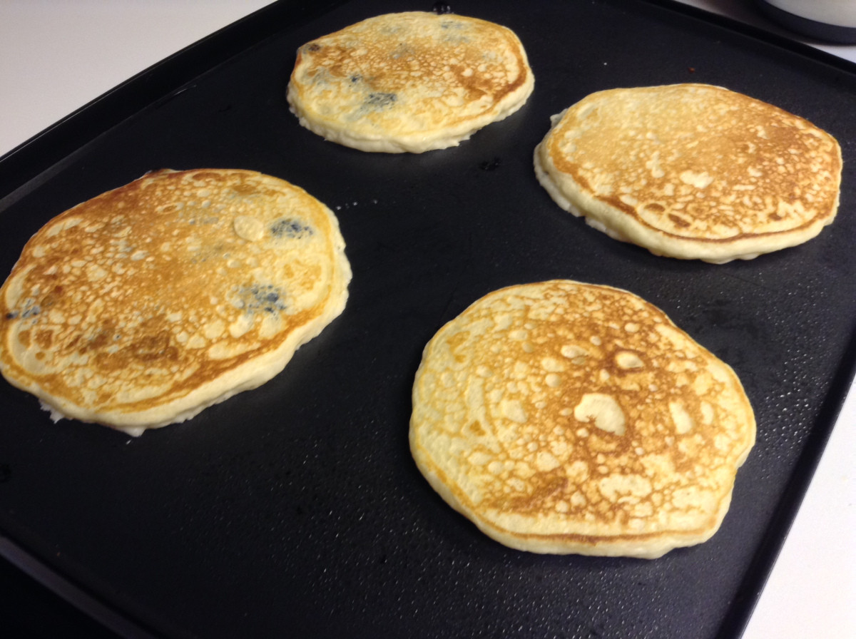 Easy Homemade Pancakes  Easy Homemade Pancakes – Scratch this with Sandy
